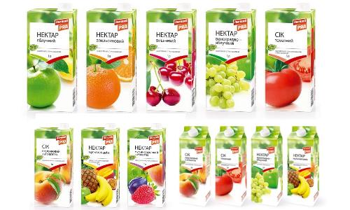 «ЕКО маркет» виводить на ринок соки і нектари під ТМ Перший ряд
