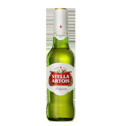 Пиво Stella Artois світле, безалкогольне 0,5л., 0,5% скло