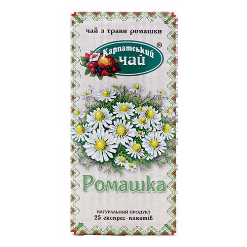 Чай Карпатський Ромашка 20пак*1,35г