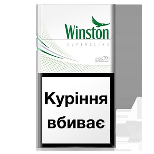 Сигарети Winston Fresh Menthol Super Slims