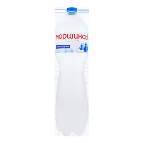 Вода Моршинська мінеральна, сильногазована 1,5л., пет