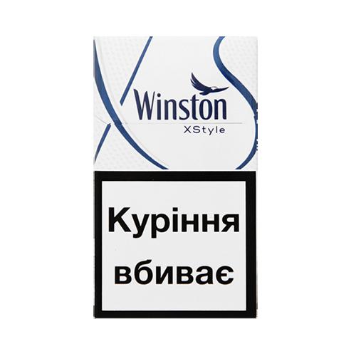Сигарети Winston XStyle Blue пачка