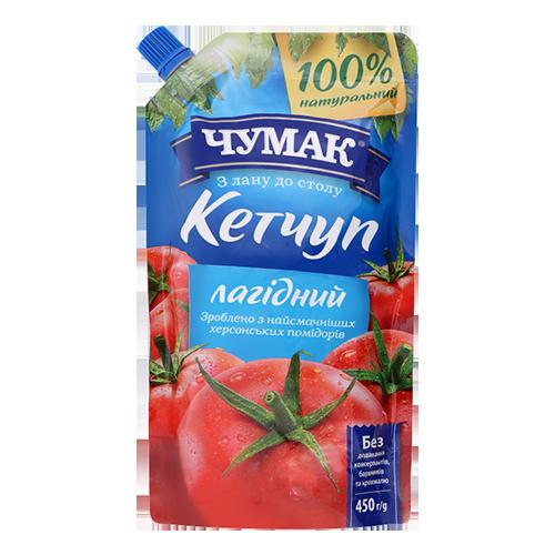 Кетчуп Чумак Лагідний 450 г д/п