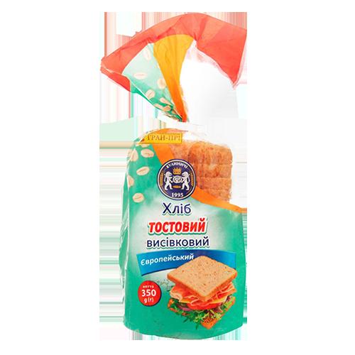 Хліб Кулиничи висівковий Європейський 350г