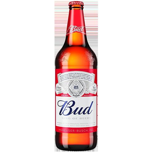Пиво Bud світле 0,75л., 4,8% скло