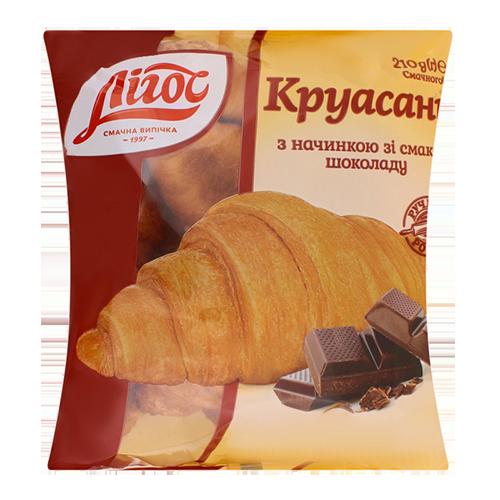 """Круасан  Лігос """"з начинкою шоколад 210гр"""