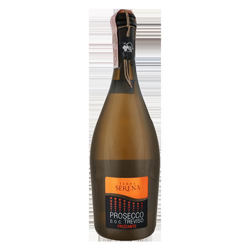 Вино газоване Terra Serena Prosecco Frizzante біле, сухе, біле 0,75л., 10,5%