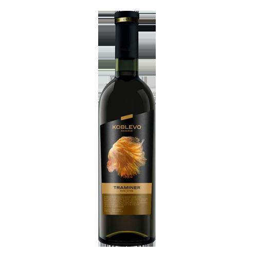 Вино Коблево Reserve Трамінер біле сухе,0,75л., 14%