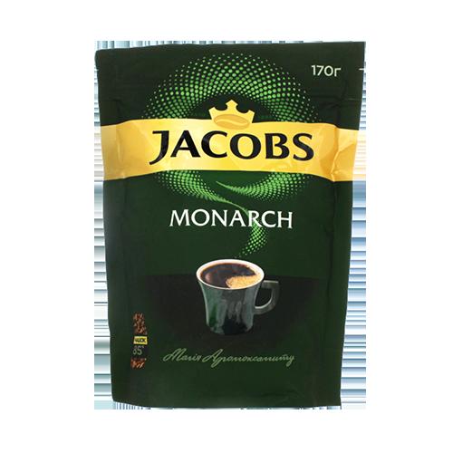 Кава Jacobs Monarch розчинна 170г м/у