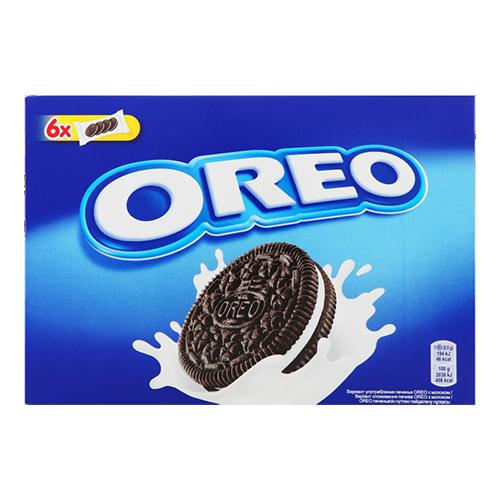 Печиво Oreo з какао та кремовою начинкою ванільного смаку 228г