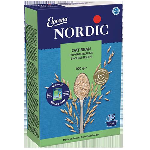 Пластівці Nordic висівки вівсяні 700г