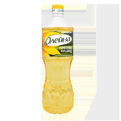 Олія Олейна пресова соняшникова рафінована дезодорована виморожена 0,5л