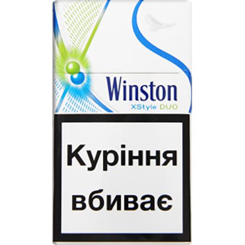Сигарети Winston XStyle DUO Green