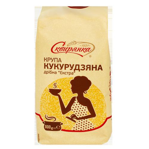 "Крупа кукурудзяна ""Сквирянка"" дрібна ""Екстра"" 800г"