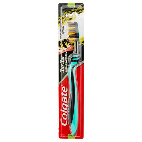 Зубна щітка Colgate Зиг Заг Деревне вугілля