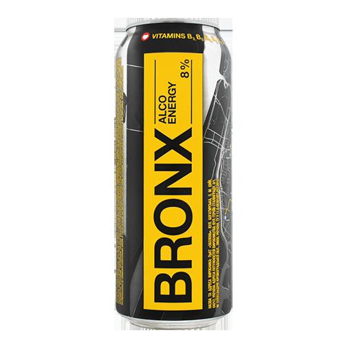 Напій BRONX слабоалкогольний, енергетичний 0,5л., 8% з/б