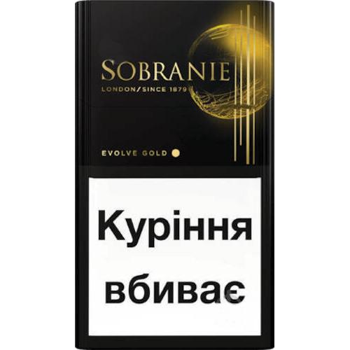 Сигарети Sobranie Evolve Gold  14г
