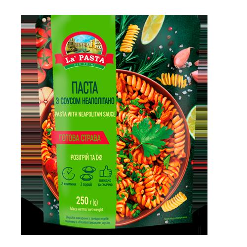 Паста La Pasta з соусом Неаполітано  250г