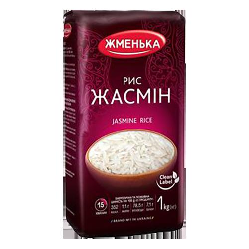 Рис Жменька Жасмін довгозернистий шліфований 1кг