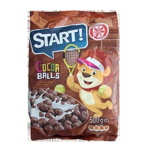 Кульки Start з какао 500г