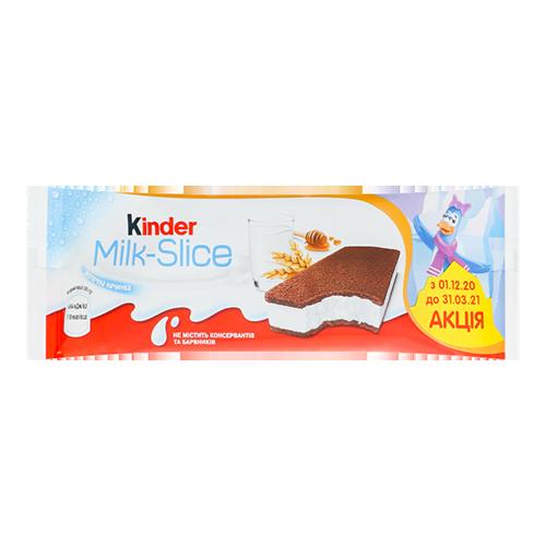 Тістечко Kinder Milk-Slice Т20 бісквітне з молочним наповненням 28г