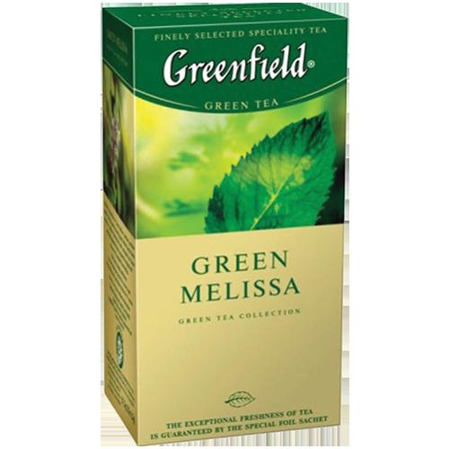 Чай Грiнфiлд Green Melissa 1,5г*25шт