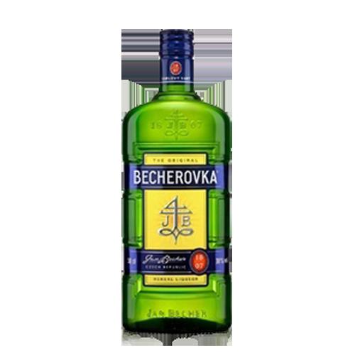 Лікерна настоянка на травах Becherovka 0,35л., 38%