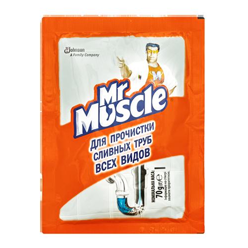 Засіб для чищення труб Містер Мускул 70г
